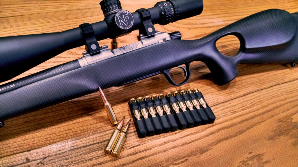 Christensen Arms Summit Ti Th Rifle In 6 5 Creedmore By