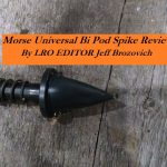 Morse Universal Bi Pod Spike Review by LRO Editor Jeff Brozovich