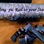 Installing a Pic Rail Bi-Pod Mount to Your Rifle Stock by Jeff Brozovich